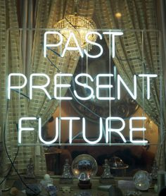 Past, present, future #lettering #typography