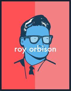 Roy Orbison #orbison #michael #roy #illustration #portrait #music #constantine
