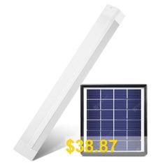 8W #Solar #Rechargeable #LED #Tube #Light #- #WHITE