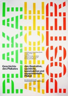 Visual Kontakt - Design, Fashion, Photography, Architecture, Illustration and Typography: Josef Müller-Brockmann: Design #brockmann #swiss #typography #design #grids #poster #colour #mller #josef #green