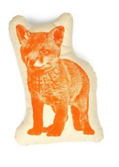 Ross Menuez Fox Pico Pillow House #fox