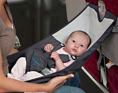 Flyebaby Airplane Baby Seat #tech #flow #gadget #gift #ideas #cool