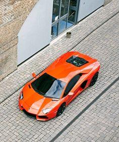 Orange Lamborghini #lamborghini #orange #car