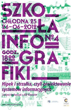 Infographics school by Piotrek Chuchla #infographics #chuchla #poster #piotrek