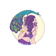 the goddess #illustration #goddess #retro #women