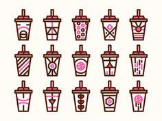 If Dribbble made milkshakes...