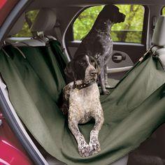 Filson Dog Car Seat Saver #car #gadget #dog