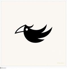 black cockatoo logo #logo #bird #resinism #black cockatoo