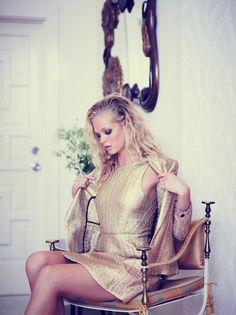Erin Heatherton by Bruno Staub for Elle US