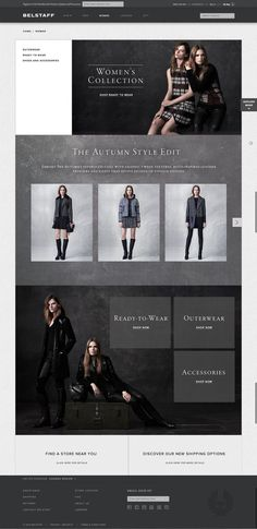 Belstaff Women Website