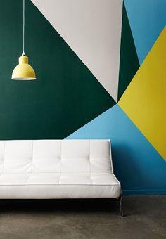http://decdesignecasa.blogspot. #abstract #wall