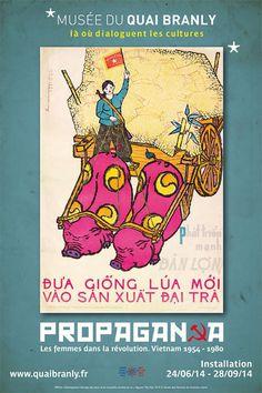 Vietnamese propaganda posters 1954 2000 #vietnam #propaganda #design #women #posters #art