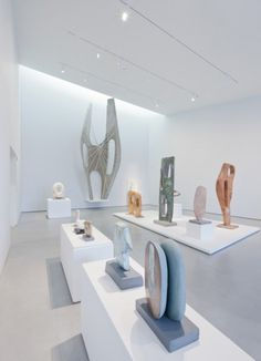 Dezeen » Blog Archive » The Hepworth Wakefield by David Chipperfield Architects #concrete #white #interiors #architecture #museums