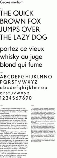 NEO NEO | Fonts | Geoxe #type #sans #design #geometric