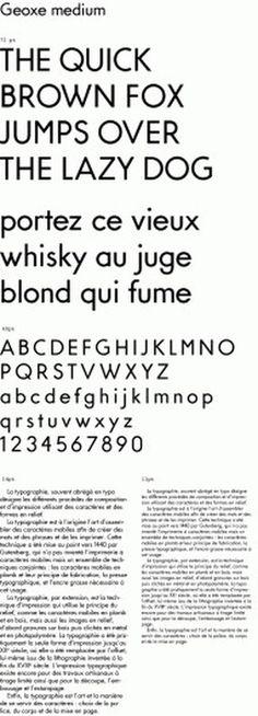 NEO NEO | Fonts | Geoxe #type #sans #design #geometric