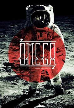 OMEGA.font on Typography Served #font #red #space #omega #typography