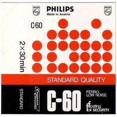 Philips Flickrgraphics #graphic design #cover #cassette tape