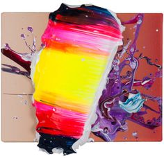 Yago Hortal | PICDIT #abstract #design #color #paint #painting #art