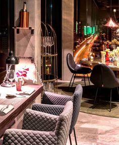 Skykitchen by Dreimeta - restaurant, restaurant design, restaurant decor, retail design, #restaurant