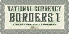 typelove_nationalcurrency_03 #typography
