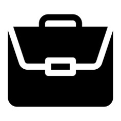 See more icon inspiration related to work, job, bag, portfolio, businessman, miscellaneous, professional, briefcase, business and suitcase on Flaticon.