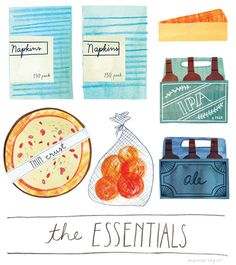 MarisaSeguin_TheEssentials_05 #illustration #food