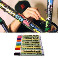 Graffiti Bike | 20 DIY Ways To Pimp Your Bike