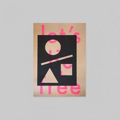 Various Prints for Sale on the Behance Network #type #magenta #printscreen #poster