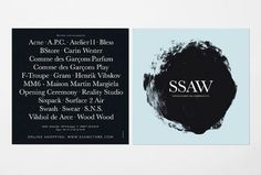 ssawstore_ss09.jpg (JPEG Image, 740 × 500 pixels) #card #print #flyer #fashion #typography