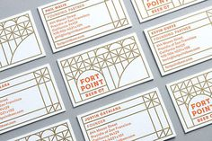 Fort Point Beer Business Cards #card #lines #business #beer