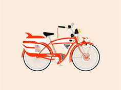 The X 1 by Jaime Cervantes #illustration #bike #poster