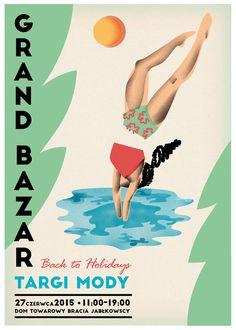 Grand Bazar poster set 2014-15 on Behance