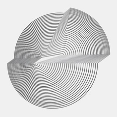"""searchsystem: """"Bridget Riley / Interrupted Circle / Painting / 1963 """""""