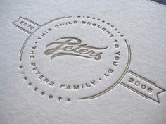 Allan Peters #simple #logo #minimal #emboss