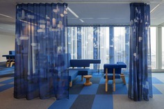 De Rotterdam interior by Studio Makkink & Bey and Group A #office #rotterdam #colourful #pixel #design