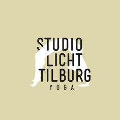 Logo Yoga Studio Licht Tilburg #yoga #logodesign #logo #graphicdesign #illustration #typography