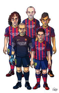 FC Barcelona / Real Madrid by Sakiroo Choi