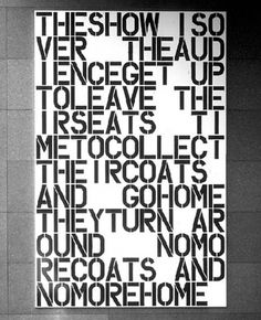 Daily Serving » Christopher Wool #painting #art #wool #christopher #typography