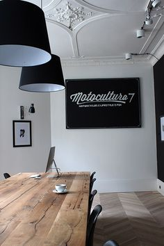 Motocultura 7 interiors by Dorota Kowalska Deka Design #interior #office #workspace
