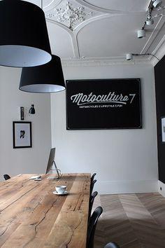 Motocultura 7 interiors by Dorota Kowalska Deka Design #interior #office #workspace