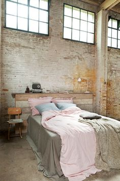 raw brick #interior #brick #design #decor #wall #deco #decoration