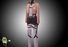 Attack on Titan Eren Jaeger Cosplay Jacket Trainees Squad #jaeger #jacket #eren #cosplay