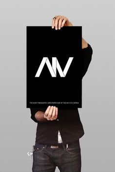 A4 on the Behance Network #print #banner #typography