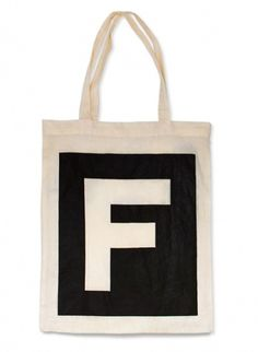 Face. Works. / Face. Branding. #typography #tote bag