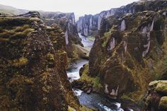 g #river #canyon #iceland