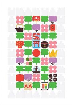 Design Work Life » Christopher Dina: Japan Day Artwork #illustration