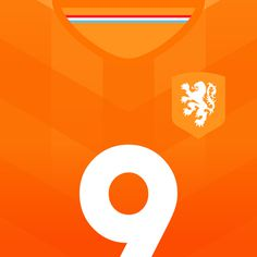 Netherlands Clockwork Orange #flat #swiss #netherlands #design #world #soccer #fifa #cup #futbol