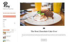 Free Theme WordPress ( P-blog )
