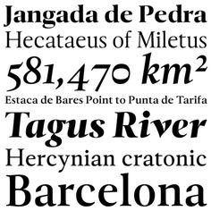 Tramuntana — Ricardo Santos (Typographica's Favourite Typefaces of 2012) #typographica #portugal #typography