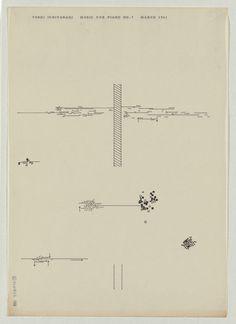 Ichiyanagi 02 #abstract #japanese #graphic #music #score